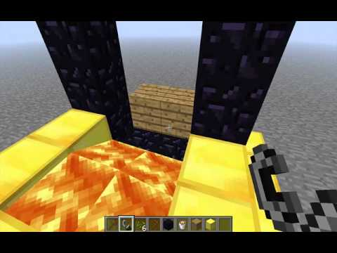 How To Make A Portal In Sky Block