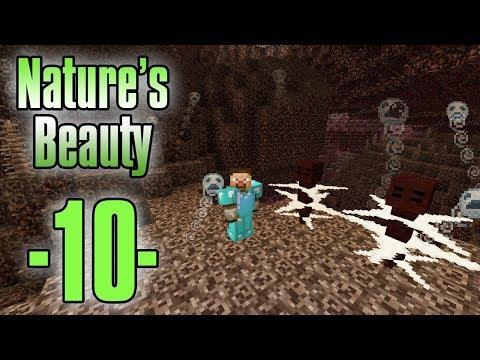 Dansk Minecraft - Nature's Beauty #10 - Skræmmende Nether (HD)