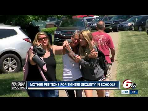 Mother of Noblesville West student petitions for tighter security in schools