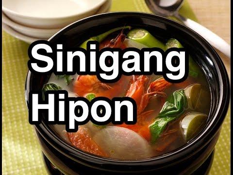 Sinigang Hipon - Pinoy Shrimps Prawns Recipe Filipino