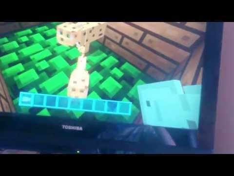 Getting a cat || Minecraft basics (2) taming an ocelot