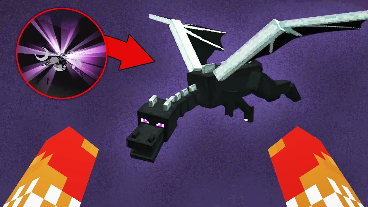 dumbest way to fight the ender dragon (part 17)