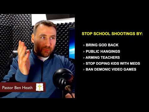 Biblical Solution To School Shootings | Prophecy