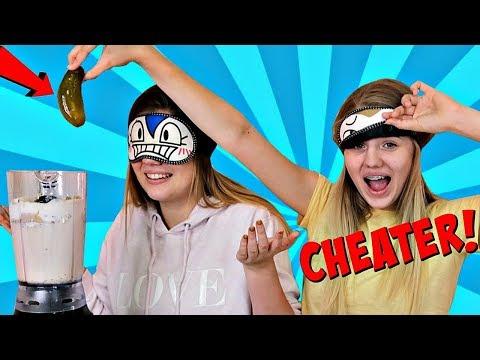 Xxx Mp4 VANESSA CHEATS AGAIN Blindfold Milkshake Challenge Sis Vs Sis 3gp Sex