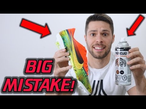 DON'T DO THIS! - Why You Should NOT Paint Your Soccer Cleats/Football Boots