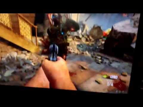 HOW TO GET THE RAY GUN OFF THE WALL (NOT ON SURVIVIAL ZOMBIES) ALL CREDITS TO Casphz