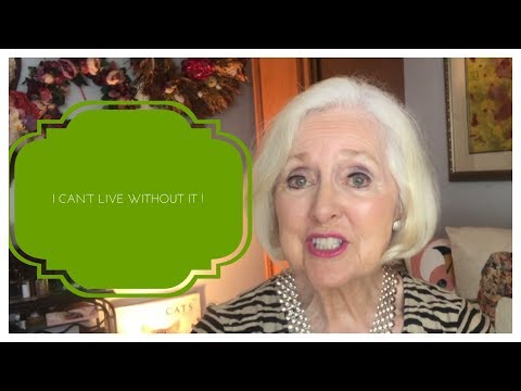 FIVE THINGS I CAN'T LIVE WITHOUT | LIFE OVER SIXTY