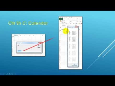 Creating Calendars with Excel VBA