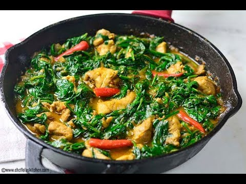 Chicken Recipes: How To Make Spinach & Chicken Stir Fry | Afropotluck