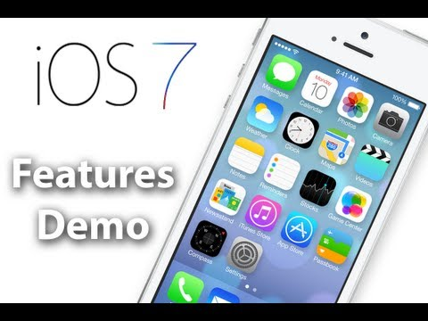 iOS 7 Review - Hands On iOS 7 Demo - iOS 7 Features, Design, & Overview