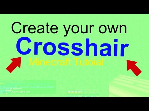 HOW TO Change the Crosshair in a Resource Pack [Minecraft Tutorial] [2016] STILL WORKS!!!!