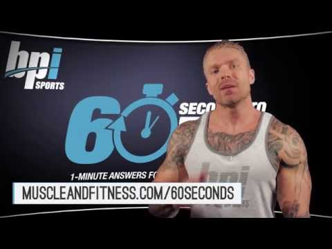 How To Get Bigger Forearms - 60 Seconds to Fit with James Grage - BPI Sports