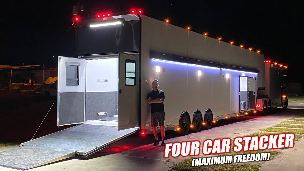 Could've Bought a Supercar, But Our New Trailer Is Way Cooler...