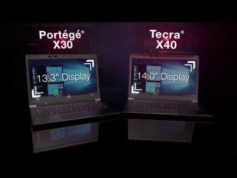 Toshiba Portégé X30 & Tecra X40 Laptops