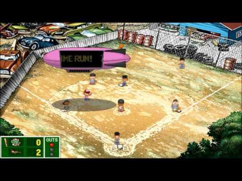 Backyard Baseball 2003 - Melonheads vs Orioles Tee Ball (CoC)