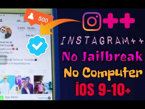 How To Get Instagram++ With Other ++Apps Without Jaibreak,No Computer  iOS 9-10.3.1