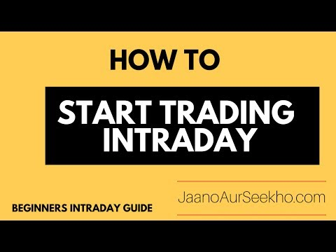 How to start Intraday Trading for Beginners in  India -Intraday Jackpot [Hindi]