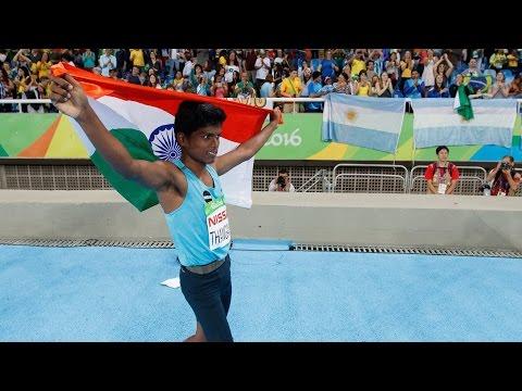 Mariyappan Thangavelu | Men's High Jump T42 | Rio 2016 Paralympics