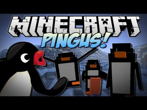 Minecraft | DERPY PENGUINS!! | Build Battle Minigame