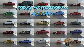 Forza Motorsport 6 All Cars (Including All DLC) (612 Cars)