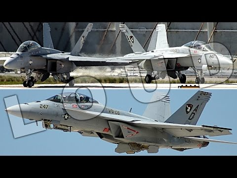 {TrueSound}™ LOUD F/A-18 Super Hornet Takeoff + Landing + Formation at Ft. Lauderdale 5/7/17