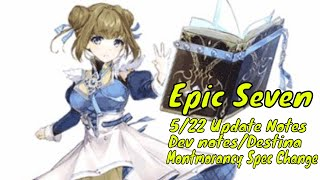 Epic Seven: 1/16 Updates Roozid Specialty Change/5 Star Zeno