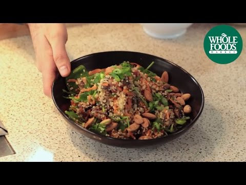 Quinoa with Balsamic Roasted Mushrooms | Health Starts Here™ | Whole Foods Market
