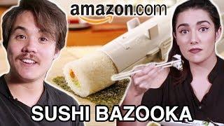 "I Tried A Sushi ""Bazooka"" From Amazon"