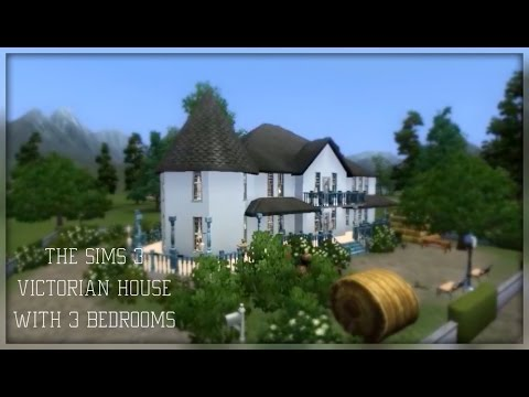 The Sims 3 Victorian House with 3 bedrooms