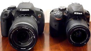 DSLR showdown: Cannon T5i vs. Nikon D3400
