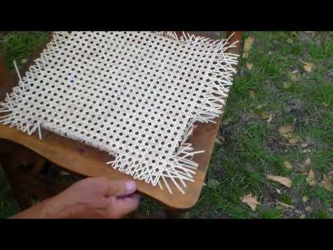 Antique Chairs Restoration, Caning