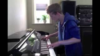 Martin Garrix - Animals (Victor Keys piano cover)