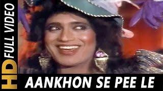Aankhon Se Pee Le | Usha Uthup | Roti Ki Keemat 1990 Songs | Mithun Chakraborty, Kimi Katkar
