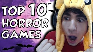 TOP 10 HORROR GAMES! - [Speciale 666 Video!]