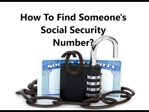 Lookup SSN by Name | How Can I Get Someone's Social Security Number? Private Investigator SSN Search