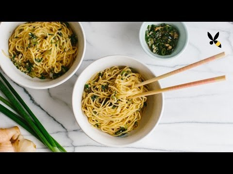Momofuku Ginger Scallion Noodles - HoneysuckleCatering