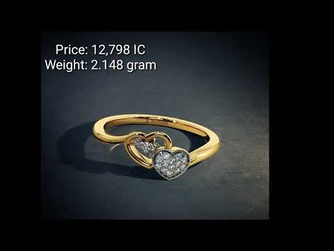 Gold Ring Designs With Weight And Price  Under 15K  From BlueStone  