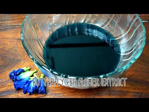 Thai Foods | Butterfly Pea Flower Extract | Color Blue From Nature