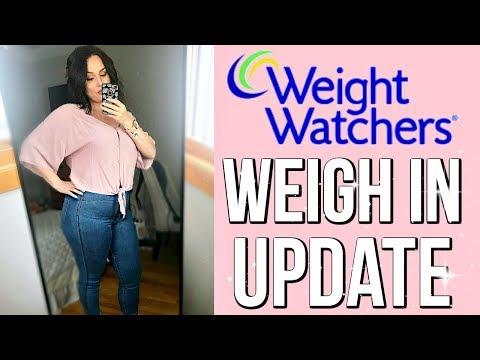 WEIGH IN UPDATE / WEIGHT WATCHERS POINTS PLUS / ITRACKBITES / DANIELA DIARIES