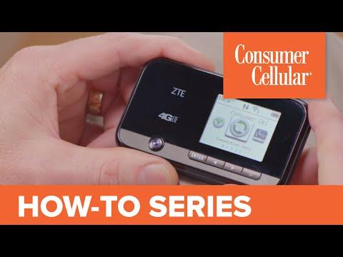 ZTE Mobile Hotspot: Overview & Tour (1 of 1) | Consumer Cellular