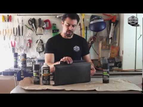 How To Paint & Restore Interior Car Vinyl - Console