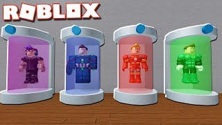 Roblox Adventures - MORPH INTO SUPERHEROES IN ROBLOX! (Superhero Simulator)