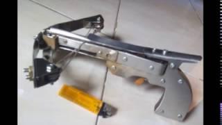 my pistol handcrafted crossbow (tembak panah buatan sendiri)
