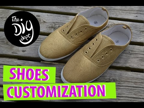 DIY shoes Customization in 3 steps! SUPER EASY
