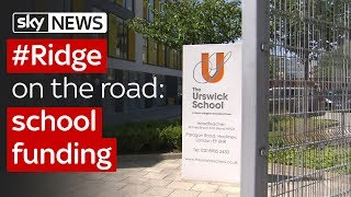 #Ridge on the road: school funding