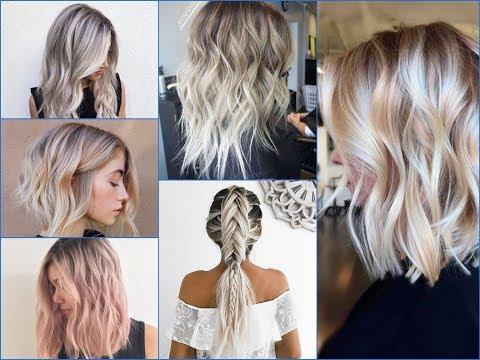50  Amazing Blonde Balayage Hair Color Ideas 2018