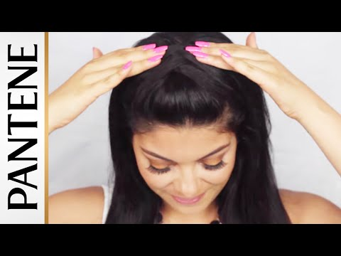 Criss Cross Updo: Half-Up Half-Down Hairstyles by Sccastaneda
