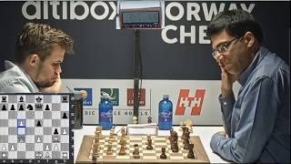 You will become fan of Carlsen after watching this beautiful attacking Master piece against Anand