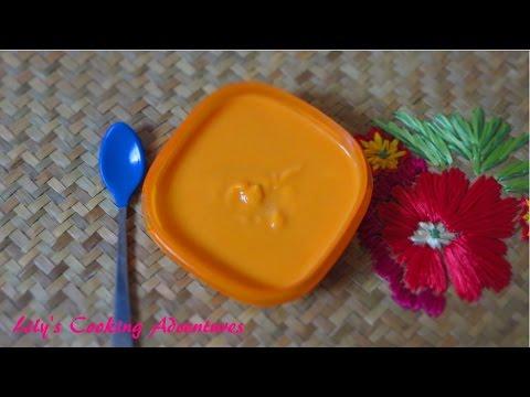 Homemade Baby Food | Sweet Potato Baby Food Puree | Mon An Dam Cho Be