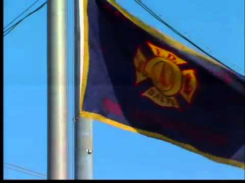 Flags at half staff